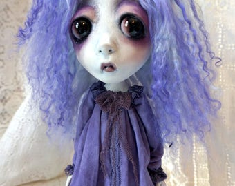 Loopy Southern Gothic Art Doll Victorian Dark Goth Ghostly Lucy