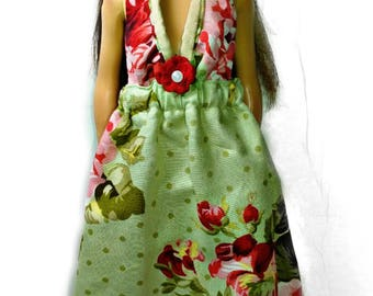 Red Rose gown for Lammily Doll