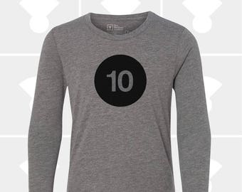 10th Birthday - Long Sleeve Shirt