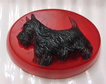 Dog Soap, Scottie Dog Soap, Glycerin Soap, Vegan Soap, Terrier Soap, Handmade Soap, Soap for Him, Soap for Her, Bar Soap, Glycerin Soap