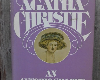 Agatha Christie: An Autobiography - 1977 - Excellent Condition