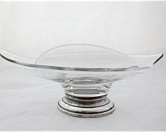 WEB Sterling Divided Candy Bowl Nut Dish