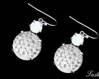 Vintage Swarovski Drop Earrings, Romantic Mid Century Jewelry