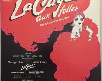 La Cage Aux Folles LP - The Musical