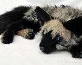 CUSTOM Three-Tailed Fox Plush