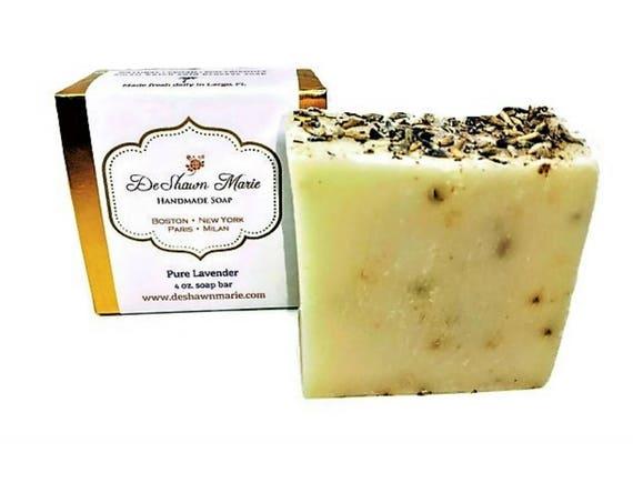 SOAP- Lavender Soap, Pure Lavender Soap, Best Lavender Soap, Vegan Soap, Natural Soap, Mother's Day Gift, Birthday Gift, Christmas Gift