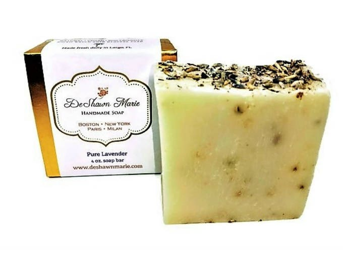 Pure Lavender Handmade Soap