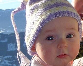 Baby's First French Alpine Ski Hat Pattern PDF