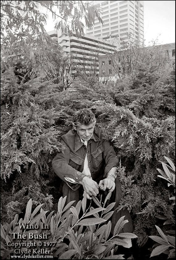 WINO In The BUSH, Portland, Oregon, Clyde Keller 1977 photo