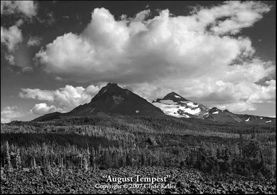 AUGUST TEMPEST, North and Middle Sisters, Clyde Keller photo, 2007