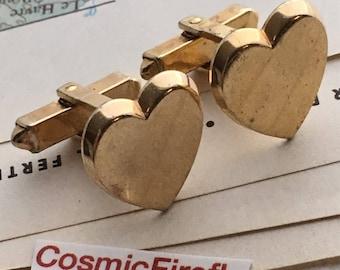 Heart Cufflinks Men's Vintage Cufflinks Anson Cufflinks Men's Cufflinks Antique Cufflinks Men's Steampunk Cufflinks