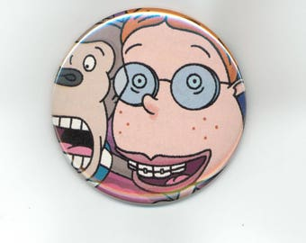 The Wild Thornberrys Eliza Darwin, Pinback Button 2 1/4 Inch