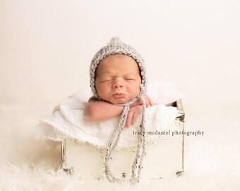 Newborn Photo Prop Boy, Newborn Hat Boy, Newborn Pixie Hat, Newborn Boy Hat Photo Prop, Newborn Boy Props, Knit Newborn Hat, Newborn Bonnet