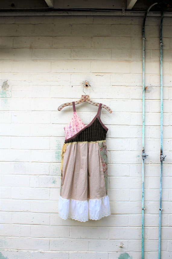 Romantic Country Girl Dress/Cowgirl Dress/Bonanza Jellybean/Country folk art Dress/Country Proud/Cowpoke Dancing/Barnhouse Dance/Country Gal