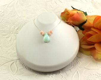 Bridesmaids Necklace ~ Spring Wedding ~ Bridesmaids Gift ~ AdoniaJewelry