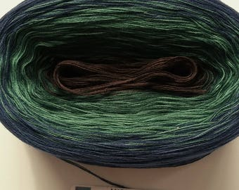 FRANCISCAN -- 150 gr/720 yards -- Color Changing Cotton yarn --  Fingering Weight