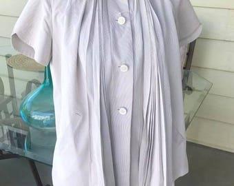 Rare 1950's Two Piece Maternity Top and Skirt -- Very I Love Lucy -- Size M-L