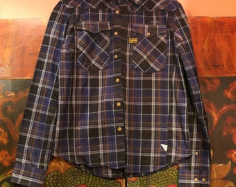 G-Star Flannel Shirt - Never Worn