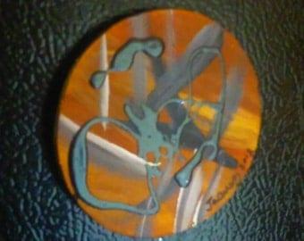 Fine Art Refrigerator Magnet number one