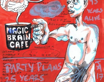 Plans for my 43rd birthday party and a cup of magic brain