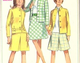 Simplicity 7545 Misses' Suit