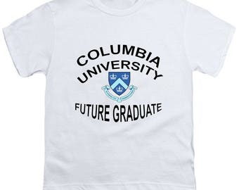 Columbia University Future Graduate Youth T-Shirt Boy, Girl, Gift,