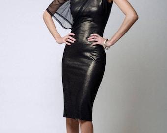 Pencil Dress / Party Dress / Midi Dress / Off Shoulder Dress / Cocktail Dress / Shift Dress / marcellamoda - MD099