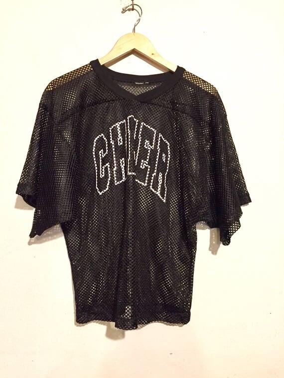 90s Vintage Cheer Mesh Jersey