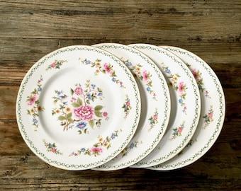 set of vintage paragon tay san china dinner plates vintage fine bone china plates - China Dinner Plates