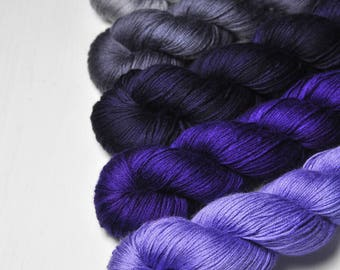 Your Grace - Gradient of Silk/Cashmere Lace Yarn