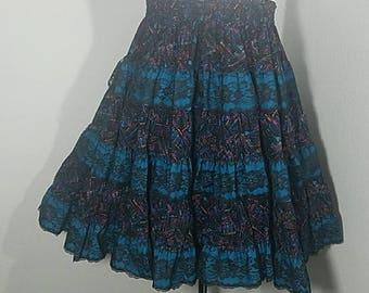 1980s Swing Skirt