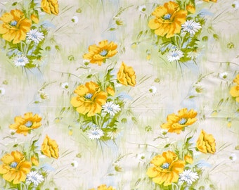 Floral Fabric 5th Avenue Design Drapery 3 Yards