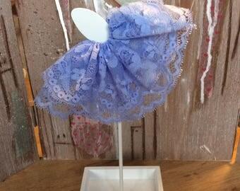 Blythe blue lace skirt