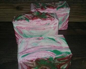 Apple Cinnamon Soap ~  5oz. to 6oz.