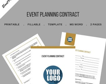 Event etsy for Event management agreement template