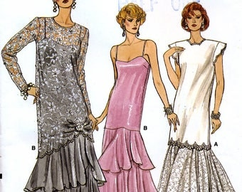 Vogue 9782 Sewing Pattern for Misses' Tunic and Dress - Uncut - Size 14, 16, 18