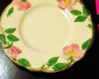 Franciscan Desert Rose Bread and Butter Plates (USA Backstamp)