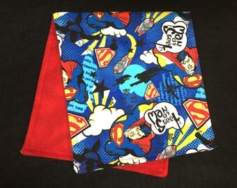 Superman Burp Cloth - Ready To Ship by ItHapnz