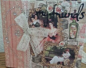 Graphic 45 Portrait of a Lady 4x4 My Friends Album