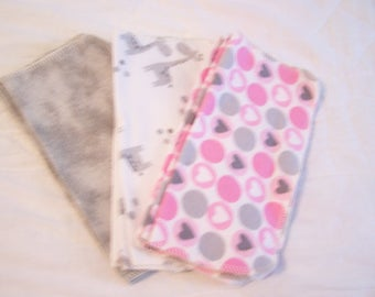 Cloth Wipes - Family Cloth Wipes - Lunch Box Napkins - Cloth Napkins - Diaper Wipes - Family Wipes - Face Cloth Wipes - Baby Wash Cloths