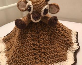 Crochet Deer Lovey