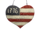 American Flag, Americana Finds, Americana Trends, Americana Ornament, Americana Decor, Fourth of July Finds, Fourth of July Decor, Flag