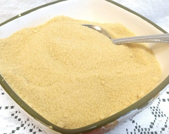 16 oz of Pure Vermont granulated Maple Sugar made with only 100% Pure Vermont Maple Syrup / great for coffee/ baking