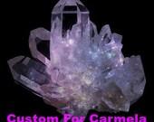Custom Listing For Carmela - Size 12.5 Druzy Agate Ring