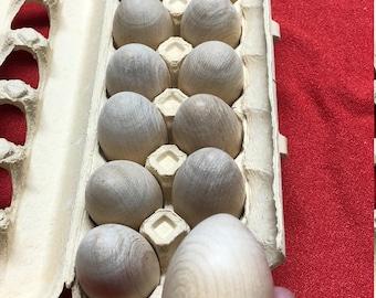 Jumbo Wooden Eggs
