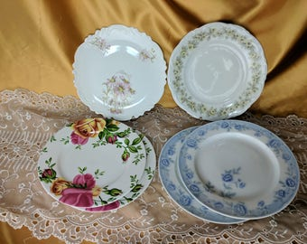 PICK A Salad Plate Chengs Royal Albert Country Rose Mitterteich Mari Carlsbad  *eb