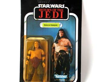 Rancor Keeper Star Wars Figure, Mint, 1983, Jedi, Luke Skywalker, Darth Vader, MOC, action figure, Star Trek