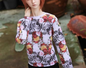 SD Skull&Roses long sleeve shirt