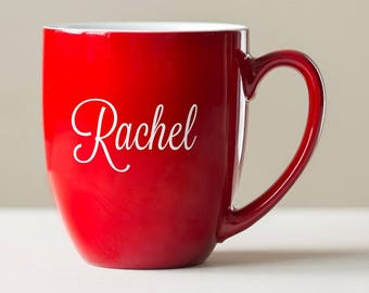 Personalized Engraved Coffee Mug: Large Personalized Coffee Mug, Custom Oversized Coffee Mug with Name, Personalized Mug, SHIPS FAST