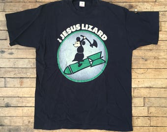 vintage THE JESUS LIZARD shirt - 1990's - Size Extra Large